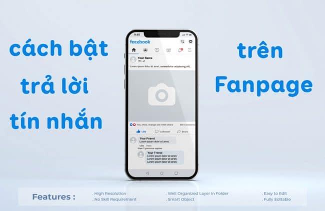 Hướng dẫn cách bật trả lời tin nhắn tự động trên Fanpage