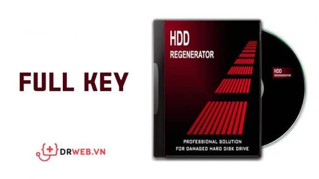 Phần mềm Hdd regenerator Full Key